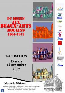 affiche expo ecole de dessin ecole des beaux arts